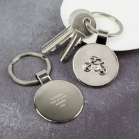 Cycling Keyring