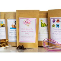 Eco Friendly Personalised Pancake Mix Party Bags