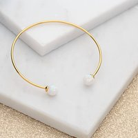 Gold And Opal Bangle, Gold