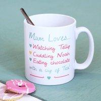 Personalised My Favourite Things Mug