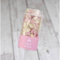 Fairytale Personalised Wedding Confetti Pops