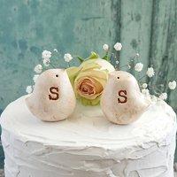 Personalised Bird Wedding Cake Toppers
