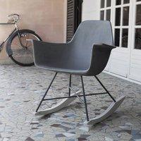 Hauteville Concrete Rocking Chair