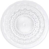 Amelie Vintage Glass Charger Plate