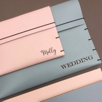 Large Leather Wedding Planner Folder