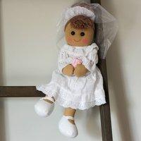 Personalised Bride Rag Doll
