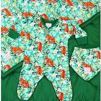 Personalised Luxury Jungle Baby Gift Set