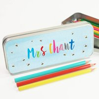 Personalised Teacher's Pencil Case