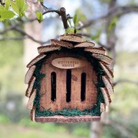 Wooden Hanging Butterfly House Habitat