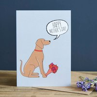 Vizsla Mother's Day Card