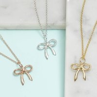 Bow Necklace For Love