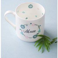Botanical Chunky China Tea Mug