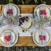 Sorbet Summer Tablescape Table Décor Package