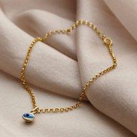 9ct Gold Evil Eye Bracelet, Gold