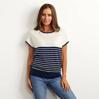 Eloise Breton Striped Cashmere Jumper