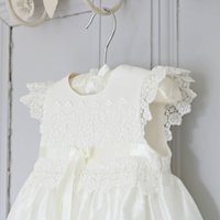 Christening Gown Rachel, White/Ivory