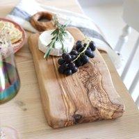 Irregular Shape Olive Wood Serving Board