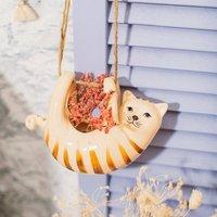 Ginger Cat Hanging Planter