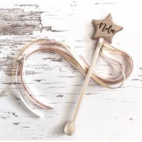 Personalised Keepsake Wooden Wand