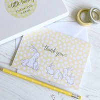 Little Bunny Thank You Cards