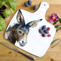 Inky Donkey Chopping Board