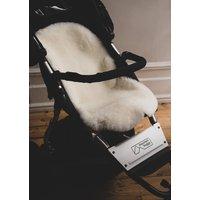 Baa Baby Buggy Style Sheepskin Pram Liner Ivory Shorn