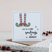 Elf Inspired Christmas Card Pack