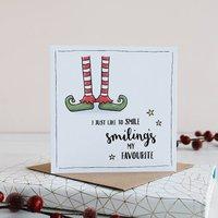 Elf Inspired Christmas Card Pack