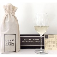 Guess The Grape White Wine Edition One Bottle