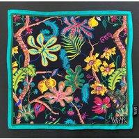 Ophelia Print Silk Scarf