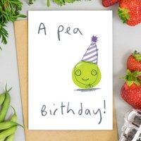 Happy Birthday Vegetable Card