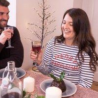 Merry Sparklemas Womens Christmas Breton