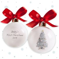 Baby's First Christmas Tree Bauble