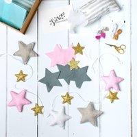 Make Your Own Star Garland Kit