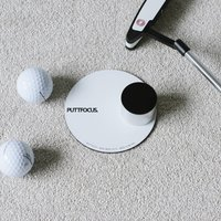 Putt Focus Golf Putting Practice Aid