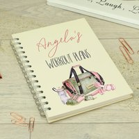 Personalised Ring Bound Workout Diary