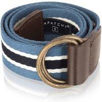 Belt In Gift Bag, Navy/Red