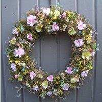 Summer Hedgerow Wreath Door Wedding Home Decoration