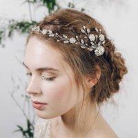 Bohemian Grecian Style Wedding Hairvine Cora
