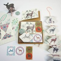 Stationery Gift Box Deer Theme