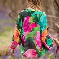 Summer Dreams Lightweight Viscose Kimono Top