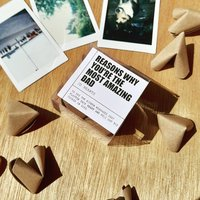 Origami 'Reasons Why You're The Most Amazing Dad'