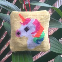 Stitch Your Own Unicorn Tapestry Hanging Decoration Kit