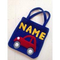 Toddlers Personalised Handbag Blue, Blue