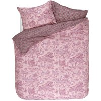 Pip Studio Hide And Seek Kingsize Duvet Cover Set Pink