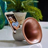 Concrete Phone Speaker