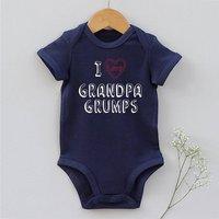 'I Love Grandpa' Baby Body Vest
