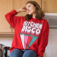 Kitchen Disco Women's Slogan Sweatshirt