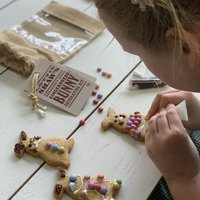 Bunny Gingerbread Decorating Kit