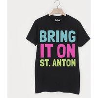 St Anton Retro Men's Apres Ski Alpine Slogan T Shirt